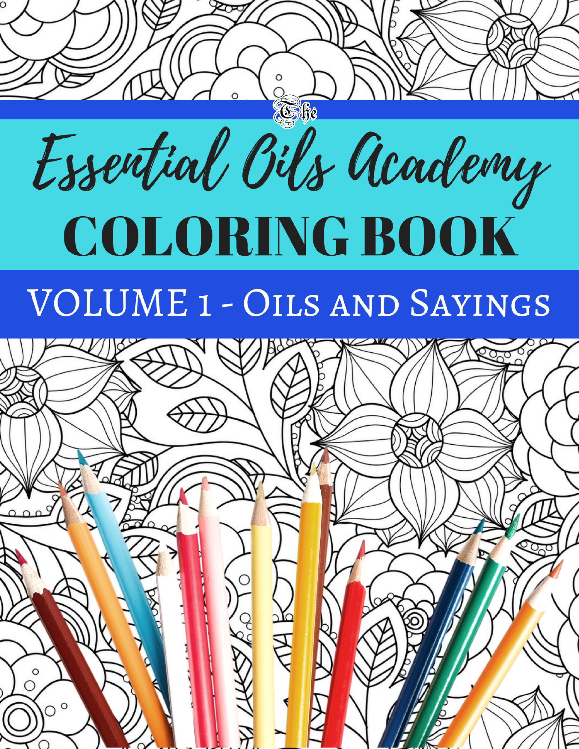 COLORING BOOK - Essential Oils Academy